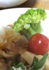 ドレッシング(焼肉のタレ・酢・ごま油)