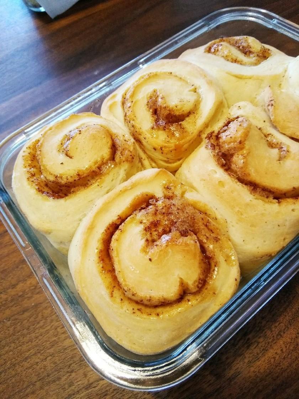 1時間で!簡単シナモンロールちぎりパン