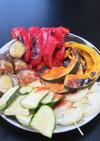 夏野菜のGKグリル焼き☆塩とオリーブ油で