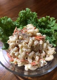 ツナと卵と野菜のマカロニサラダ