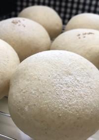 ふわふわ白パン全粒粉とクリチ入り♪