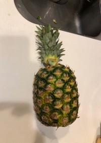 食べ頃まで待とう!パイナップルの保存方法
