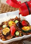 ひき肉で簡単♡夏野菜たっぷりカレー