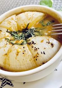 忙しい朝には!!簡単★新タマみそスープ♪