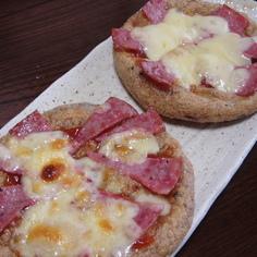 驚き☆のがんもピザ♪