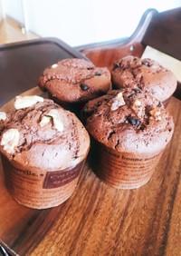 HMでチョコチョコチップカップケーキ★