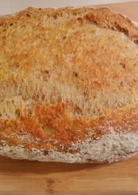 外パリ中もっちり香ばしいハードパン