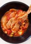 簡単ヘルシー☆骨付きラムのトマト煮込み