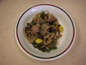 秋野菜煮物