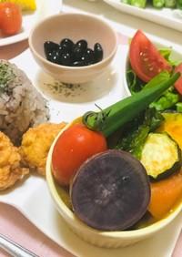 夏野菜カレープレート・ランチや女子会に♬