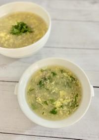 ウェストレイク風卵スープ