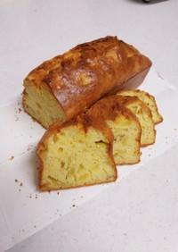 バターなし!りんごのパウンドケーキ