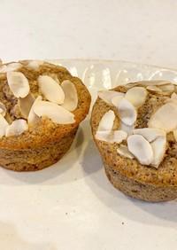 米粉のミルクティーバナナマフィン
