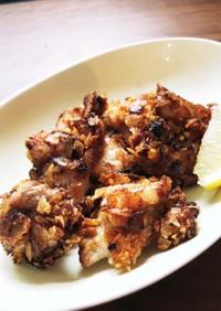 超簡単食感が楽しいポテチの鶏唐揚げ