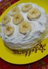厚焼きパンケーキで水切りヨーグルトケーキ