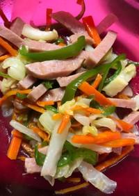 野菜炒め風