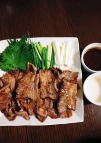 美味しい✨牛カルビ焼肉✨