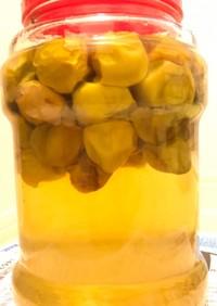 蜂蜜入り梅シロップ