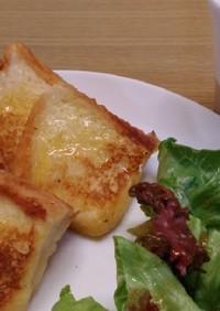 フレンチトースト(一晩漬けて朝焼く)
