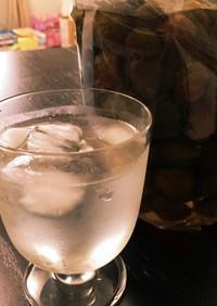【簡単】冷凍して1週間で梅シロップ