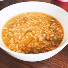 旨辛肉みそつけ素麺(覚書)