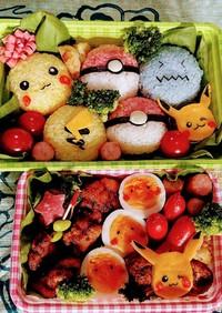 行楽弁当☆ポケモンキャラ弁