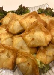 *ポテトチーズの簡単揚げワンタン*の写真
