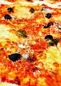 激ウマ。超簡単!我が家のイタリアンピザ