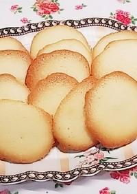 簡単♬サックリ卵白ラングドシャクッキー