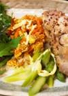 【漬けおき】鶏肉のメープルマスタード焼き