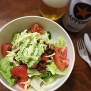 タコサラダの写真