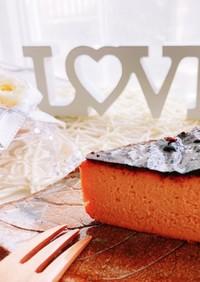 簡単♡キャラメルバスク風チーズケーキ