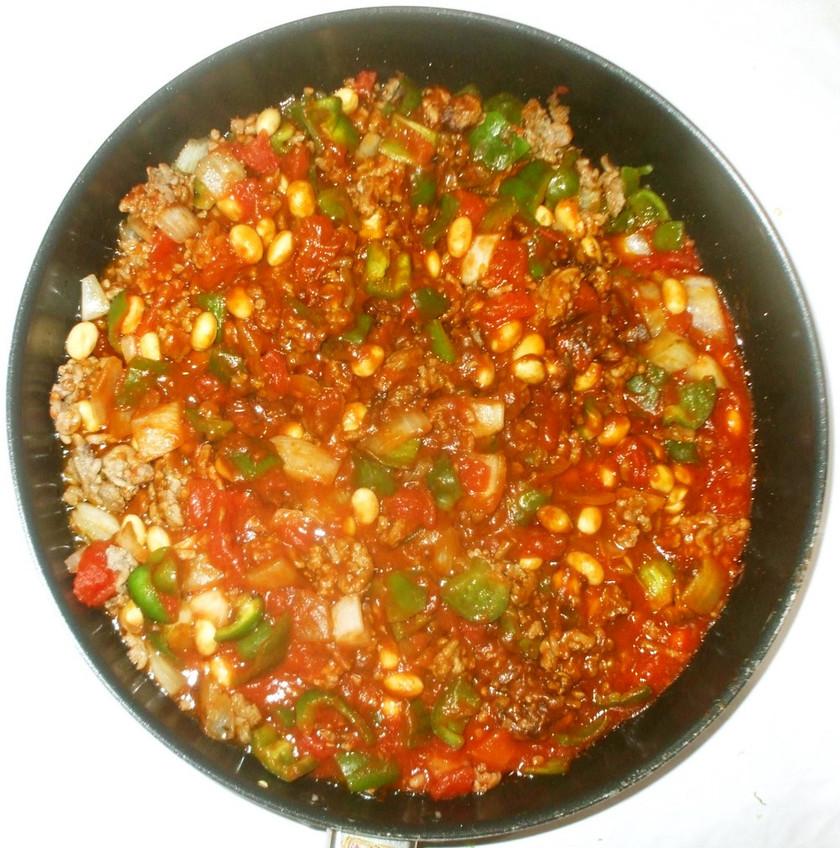 大豆ドライカレー♪簡単カレールートマト缶