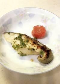 魚のねぎ塩焼き