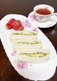 ヘルシー♡きゅうりサンドイッチ