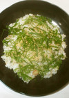 茗荷ちらし寿司♪簡単炊き込みご飯