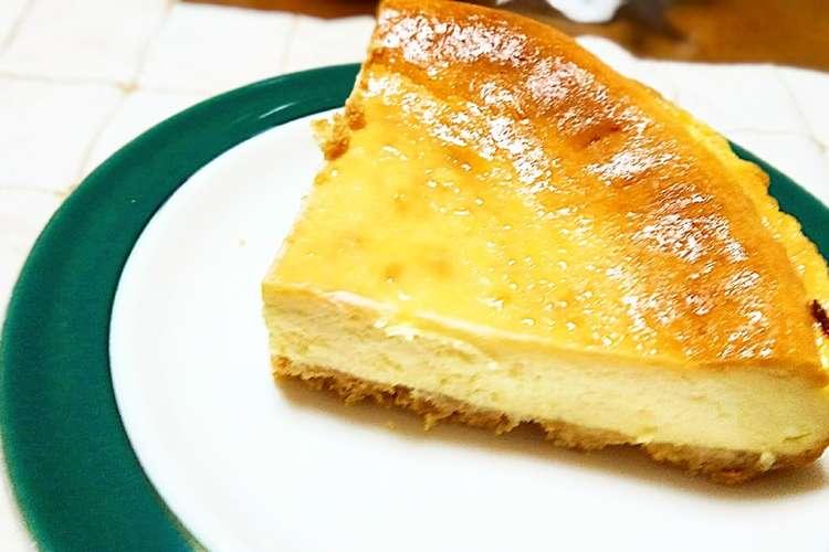 ベイクド チーズ ケーキ 簡単