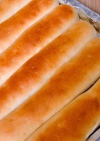薄力粉100%♡ミルクスティックパン