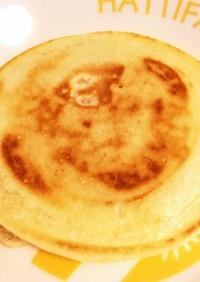 白玉粉なしで簡単もっちもちパンケーキ