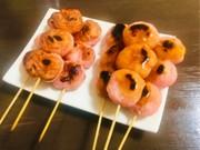 ずぼらの簡単 余った素麺で焼き団子の写真