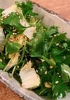 ☆パクチーと白菜のサラダ☆