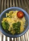 白菜のかつおぶしサラダ