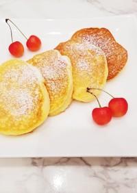 ふわふわ!幸せの♡米粉のパンケーキ