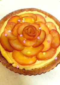 りんごのタルトケーキ