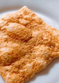 【スライスチーズで簡単!】チーズ煎餅