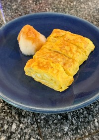 簡単!フライパンで作るだし巻き卵