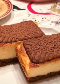 ビスケットチーズケーキ
