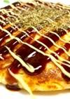 長芋と豆腐の米粉お好み焼きプロテイン入り