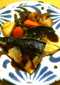 レンジで簡単◎さばの味噌煮