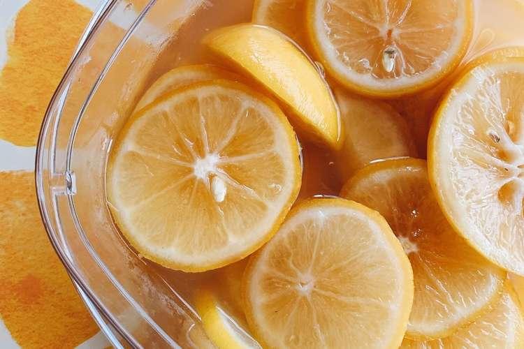 漬け レモン はちみつ